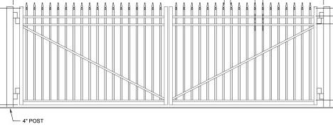 Driveway Slide Gates Dallas Robitzsch Fence