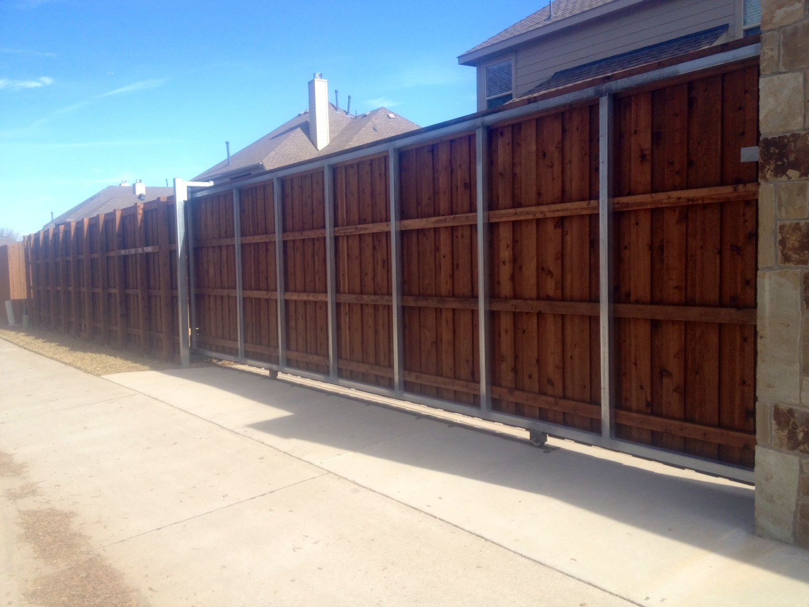 Wood Sliding Gates For Driveways