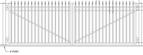 finial-top-flat-gate