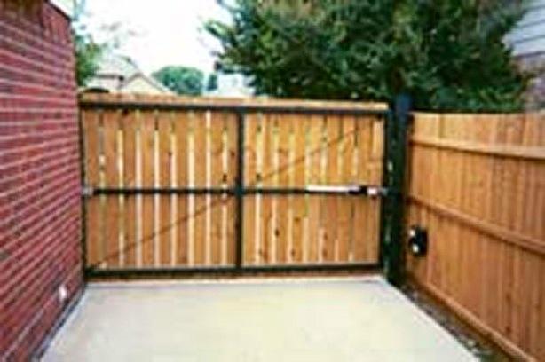 Driveway Swing Gates Dallas Robitzsch Fence