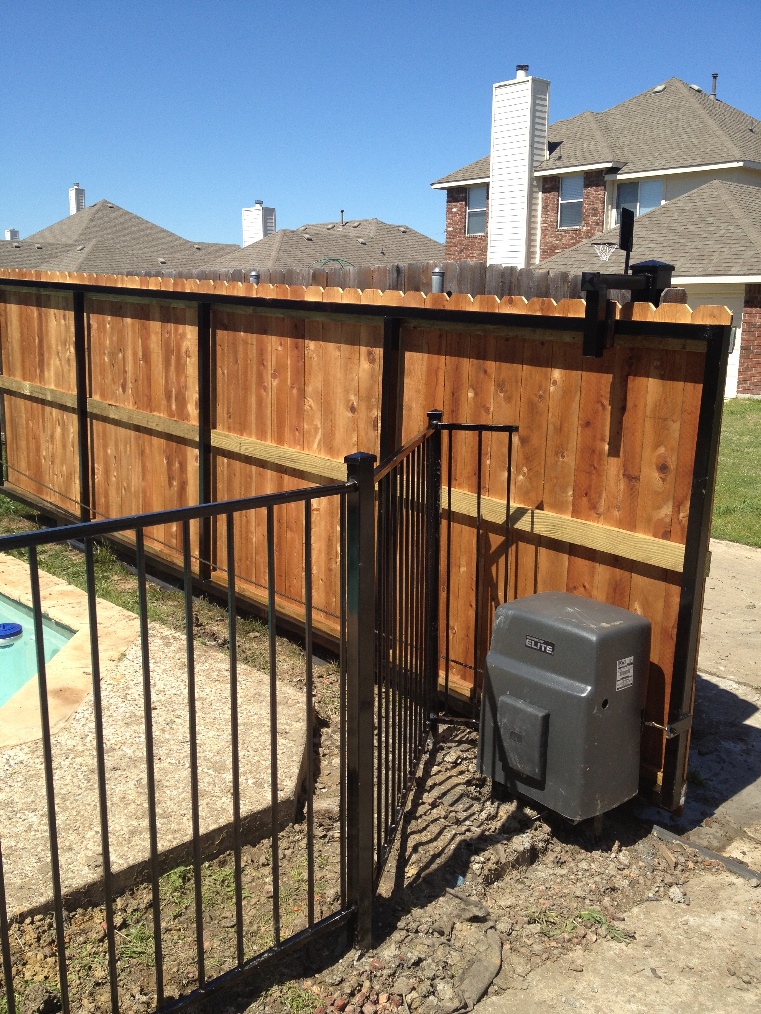 Discount gate operators dallas tx robitzsch fence